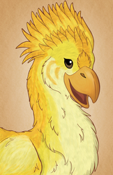 Chocobo by Shadow-Wing456