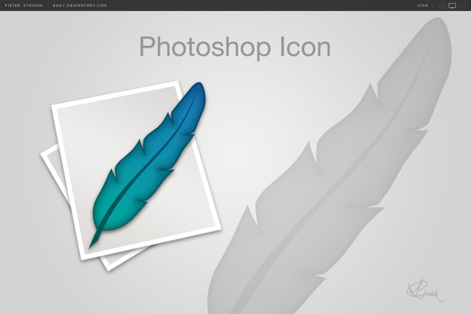Photoshop Icon by eggy