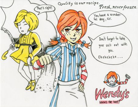 Smug Wendy's by sonic171000