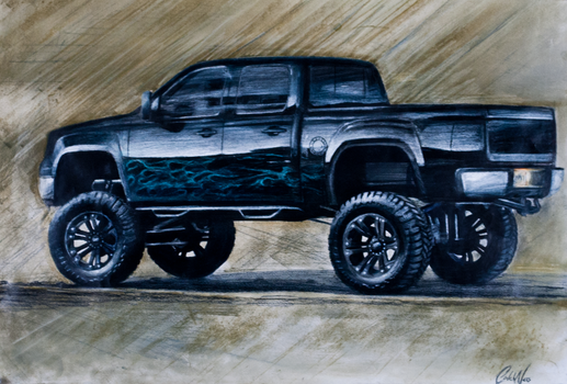 Custom 2007 Chevy Silverado by Ness1000