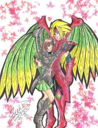 Dragoon Love by MadeInHeavenFF15