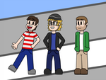 The Runaway Guys for PAX 2018 by SSM-Art