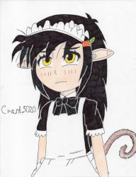 Gosaru (Maid Outfit/Colored) by Crash5020