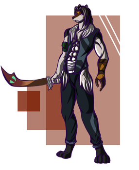 .:Commission:. Alpha by FlameBrandt