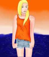 ino on the beach by Nonazka