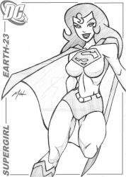 SUPERGIRL, EARTH-23 V2 by icemaxx1