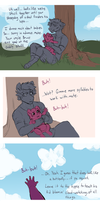 Comic: Sunshine AU by Lopoddity