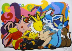 Our Colorful Family by TsukiTsu