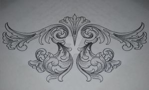 Filigree Under-bust Tattoo Request by KrisHanson