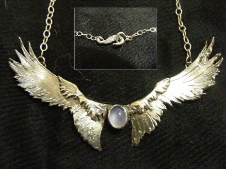 Wing Pendant by Mad-Queen1013