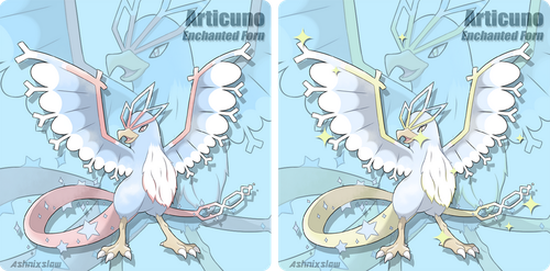 Articuno [Enchanted Form] by AshnixsLaw