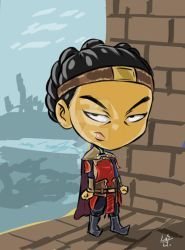 Nuxia Chibi by TheLosGee