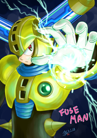 Fuse Man by NagiSpider