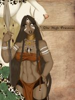 2- The High Priestess by Kizziesama