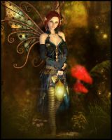 Steampunk Fairy by cosmosue