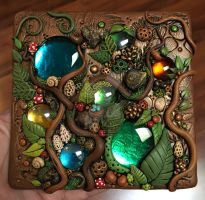 Woodland Suncatcher Tile Tutorial by MandarinMoon