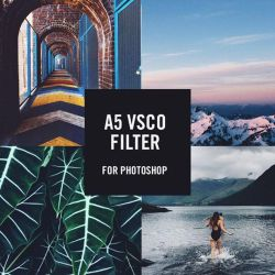 FREE TODAY - A5 VSCO FILTER 4 PHOTOSHOP by Matylly