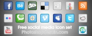 Social Media Icons by rahman3antoni