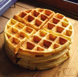 Waffle (+recipe) 2/2 by ClaraLG