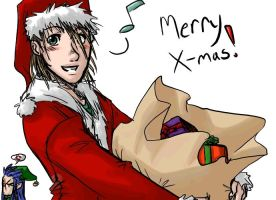 Requests - Demyx christmas by rabbitzoro