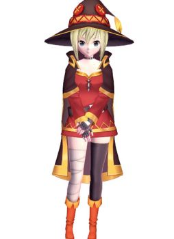 [MMD] AG - Sylvia Richt (Megumin Outfit) by arisumatio