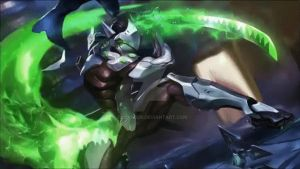 Genji | Animated Wallpaper - Overwatch by CJXander