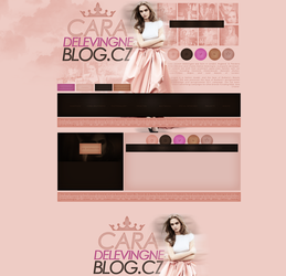free design ft. Cara Delevingne by mosbiusdesigns