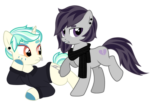 Heartbreaker and Metal Octavia / Commission by JennieOo