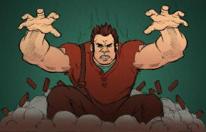 Wreck-It Ralph by blindthistle