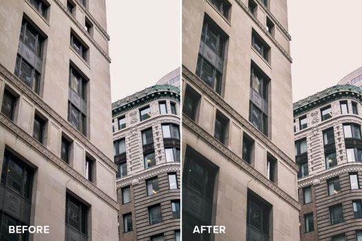 Matte Series Photoshop Actions Before/After 4 by filtergrade