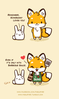 160214 Somebunny Loves You by fablefire