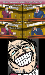 Miles Edgeworth and His Terrible Puns #18 by DarkMatter89