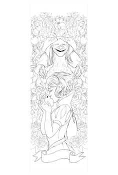 DisneyPrincesess Bookmarks_ SnowWhite Lineart. by Lavah