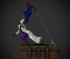 Spider-man vs. The lizard. by synn1978