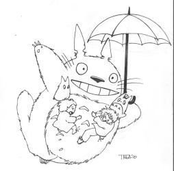 Totoro by Theamat