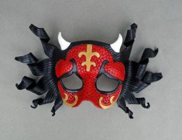 Red Oni Mask by merimask