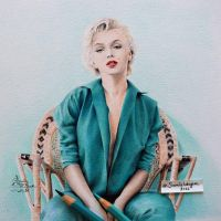 Marilyn Monroe by samiahdagher
