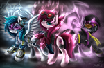 New Light Family by HoodieFoxy