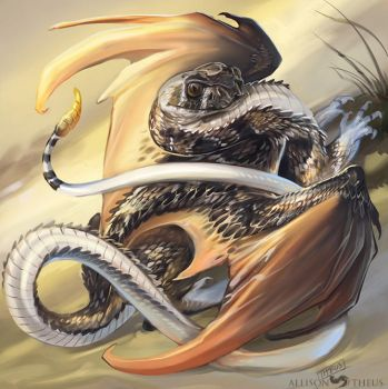 Crotalus draconis? by beastofoblivion