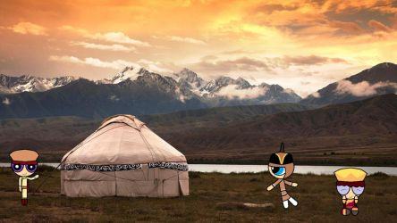 Clivia's Vacation- In der Mongolei by Oscargreget