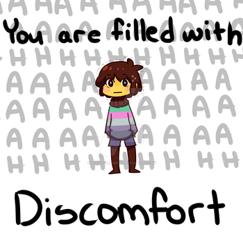 (Undertale) Chisk Is Filled With Discomfort by DitzyDilemma05