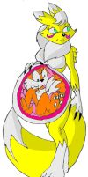 rena ate tails by large-rarge