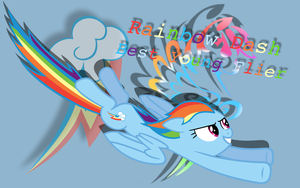 EXTREME Rainbow Dash Wallpaper by RainbowDash180