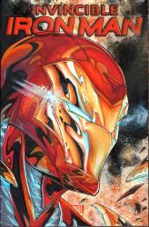 Iron Man commission on a sketchcover by ArtOfIDAN