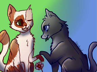 Sisters (Warrior Cats) by EminAnimal