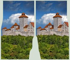 Wachsenburg 3D in CROSS VIEW by zour