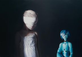The Murmur of the Innocents 4 by gottfriedhelnwein