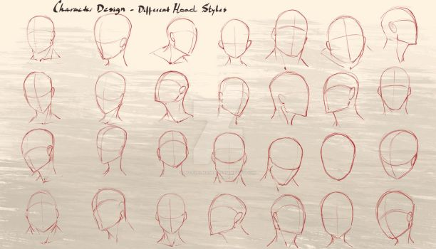 Head shapes workshop Lessons Online by marvelmania