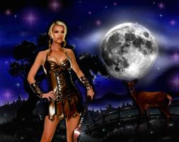 Greek Goddess: Artemis by Gypsy-Love