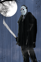 Jason Voorhees by tlmolly86